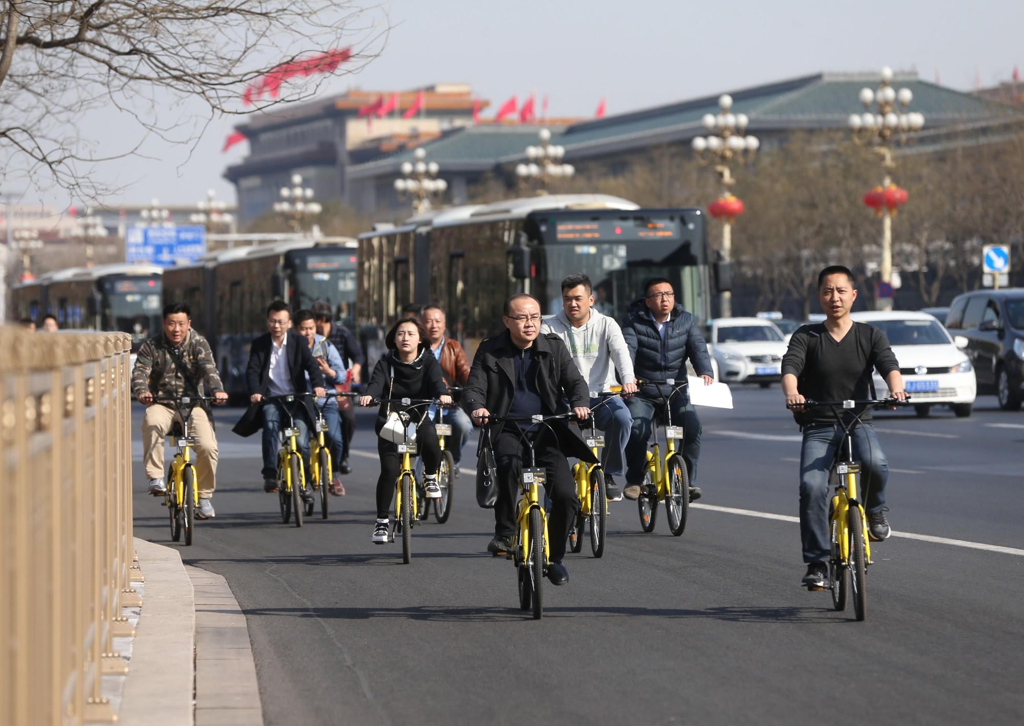 دوچرخه سواری درچین