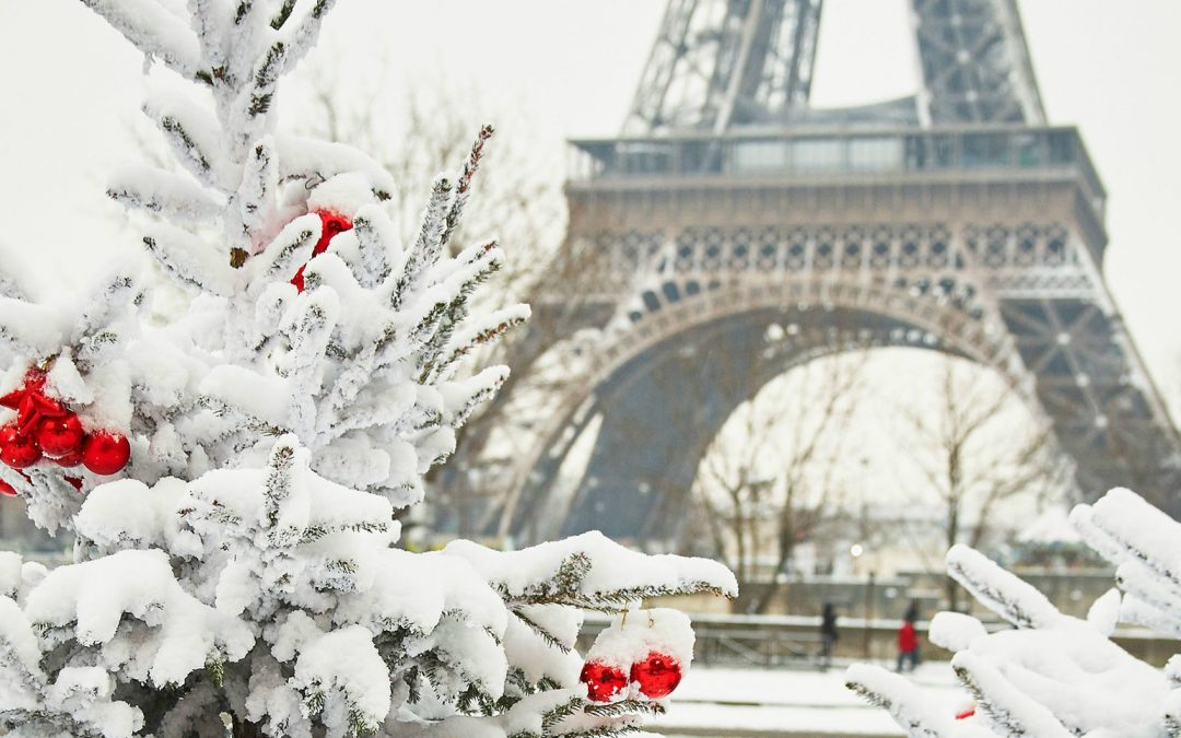 france in winter weather