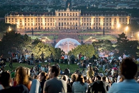 کاخ شون برون وین اتریش