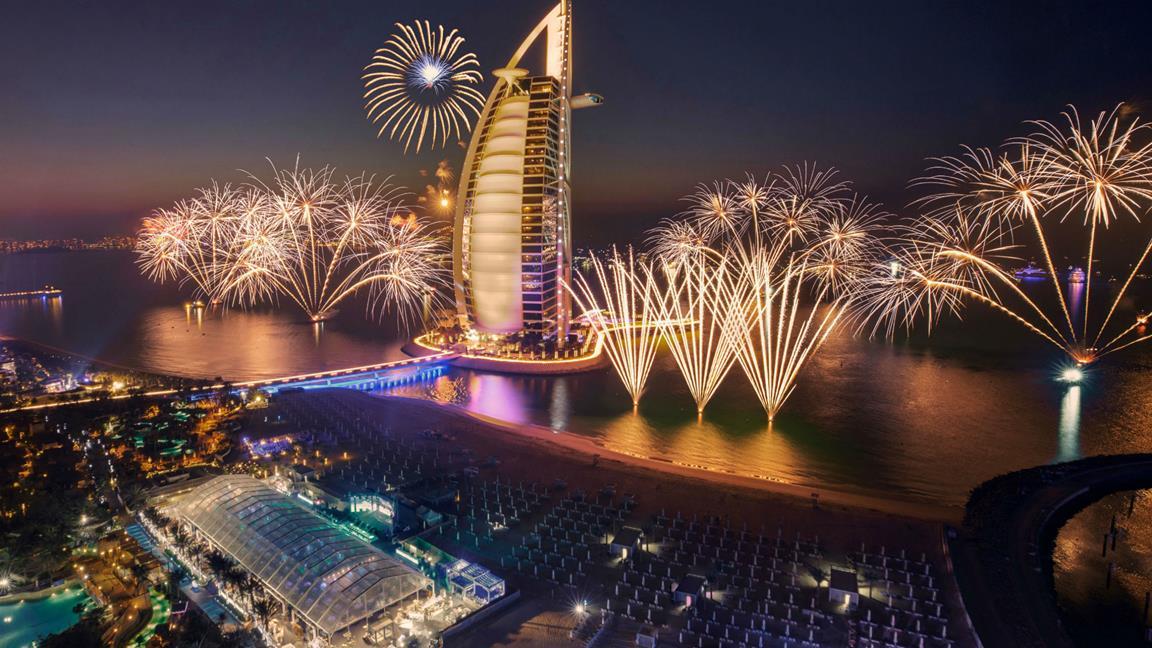 سال نو در دبی