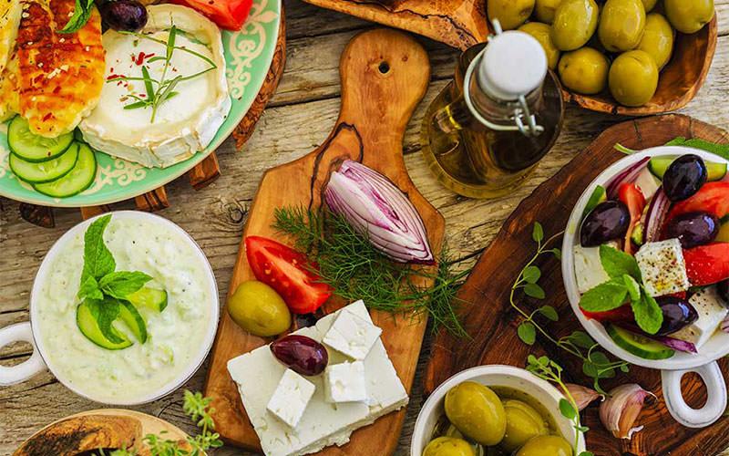 غذا در یونان