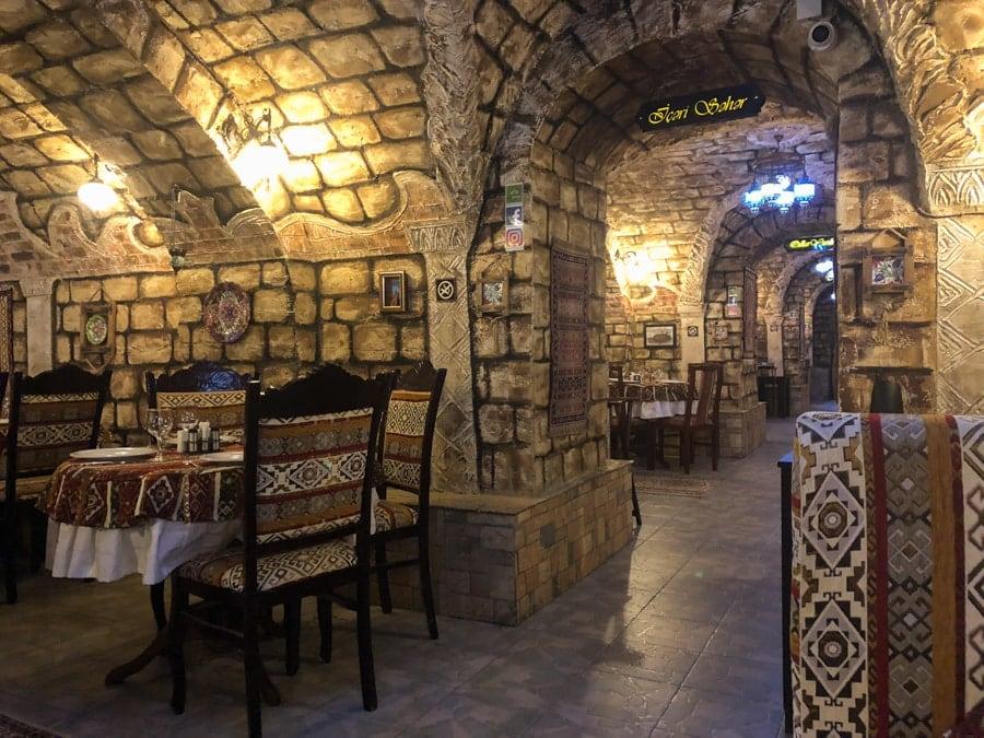 رستوران دلما باکو