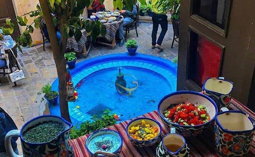 رستوران خانه پرهامی شیراز