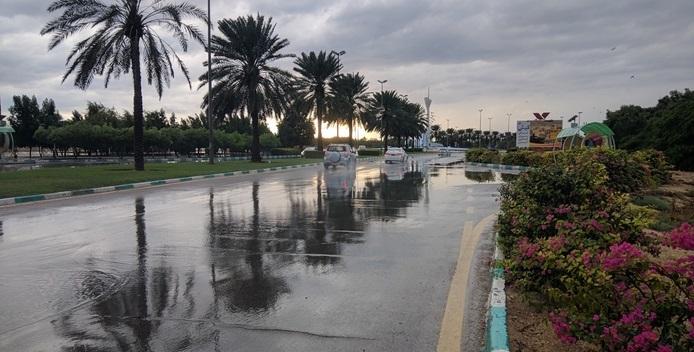 بارندگی در کیش
