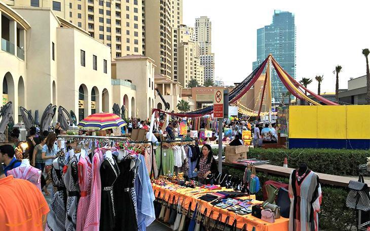 بازار محلی دبی