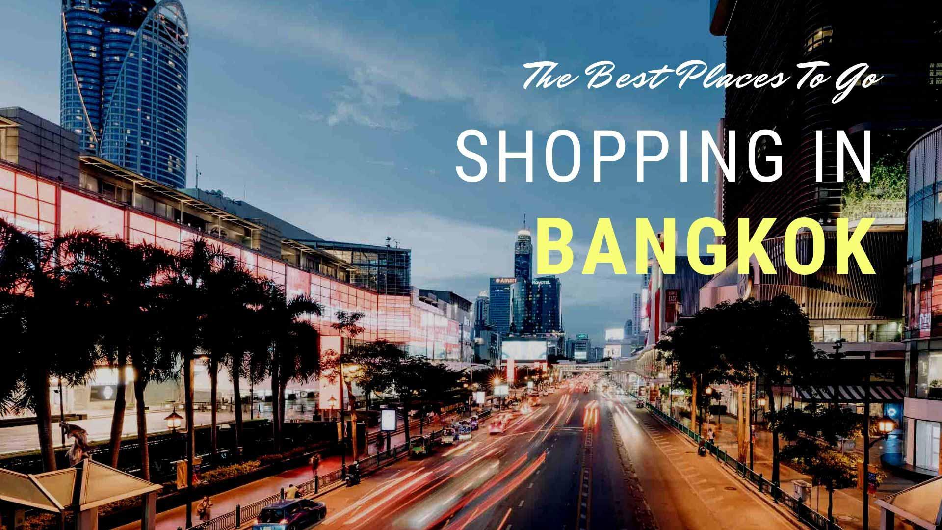 shopping in bkk