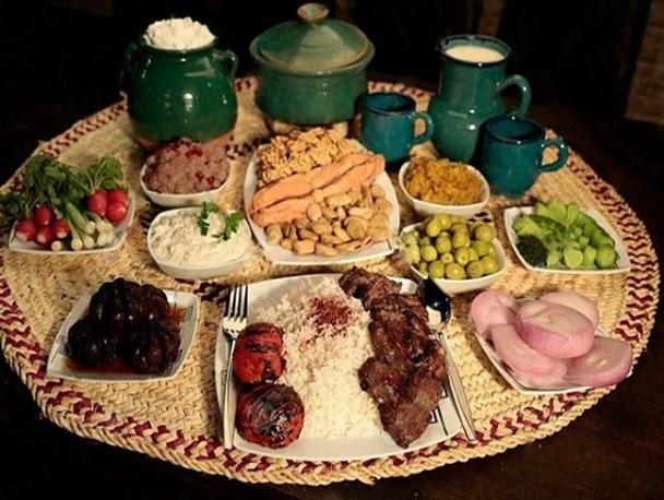 غذا در زنجان