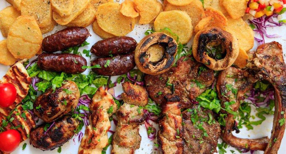 غذا در قبرس اروپایی