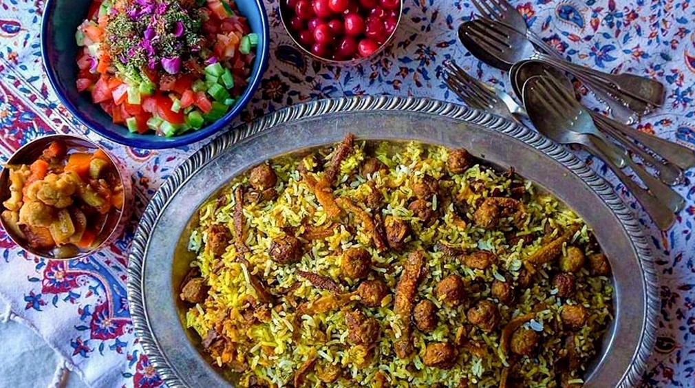 غذای استان گلستان