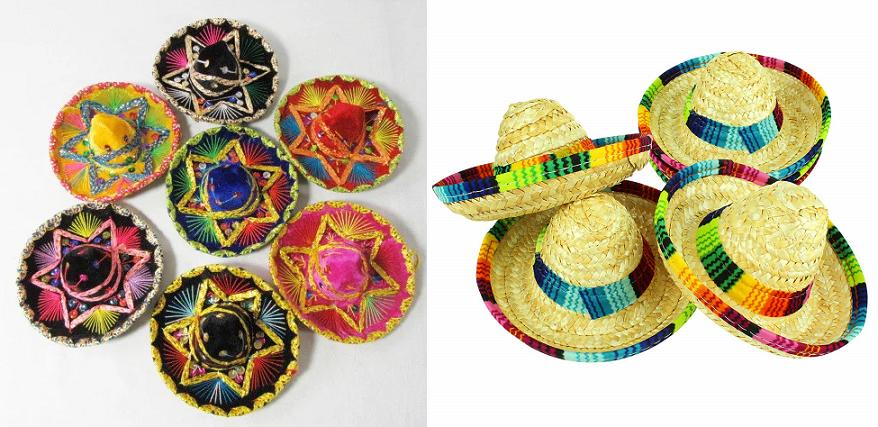 mini sombrero سوغاتی مکزیکی