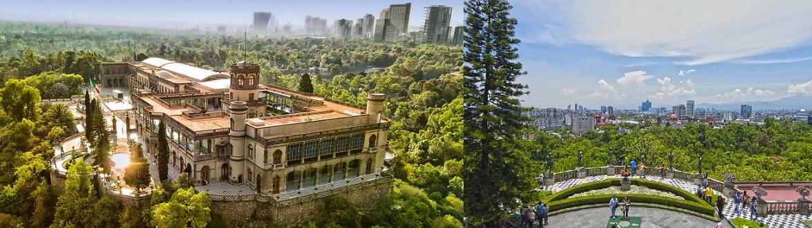 قلعه و پارک Chapultepec