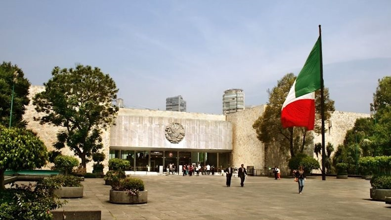 موزه ی ملی مردم شناسی مکزیک