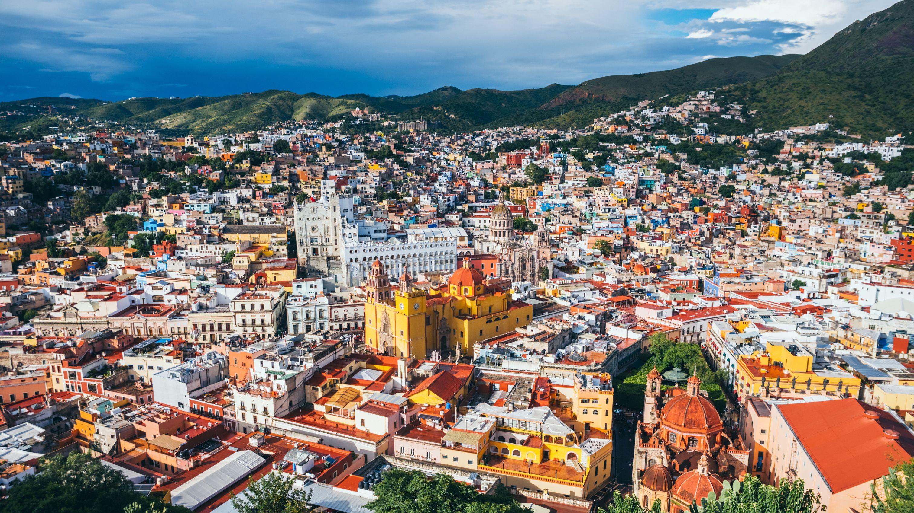 شهر گوانخواتو مکزیک