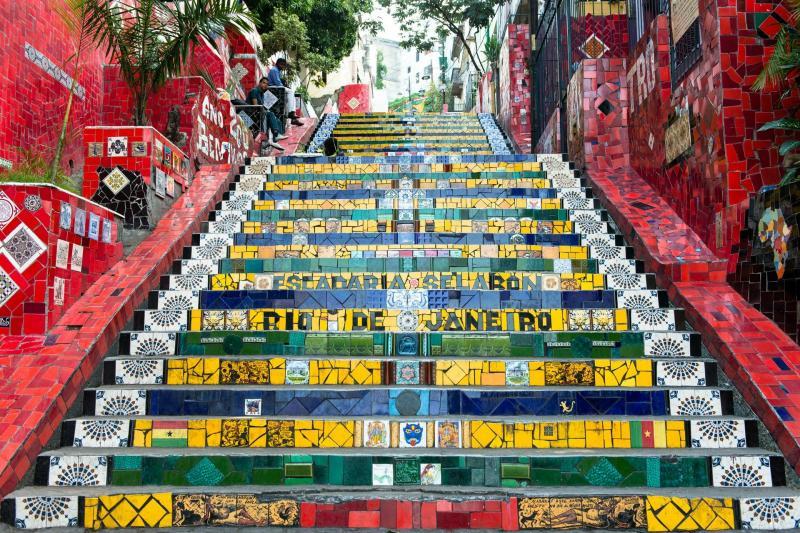 پله های سلارون ریودوزانیرو