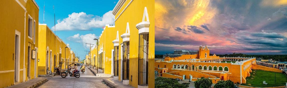 شهر ایزامال izamal mexico