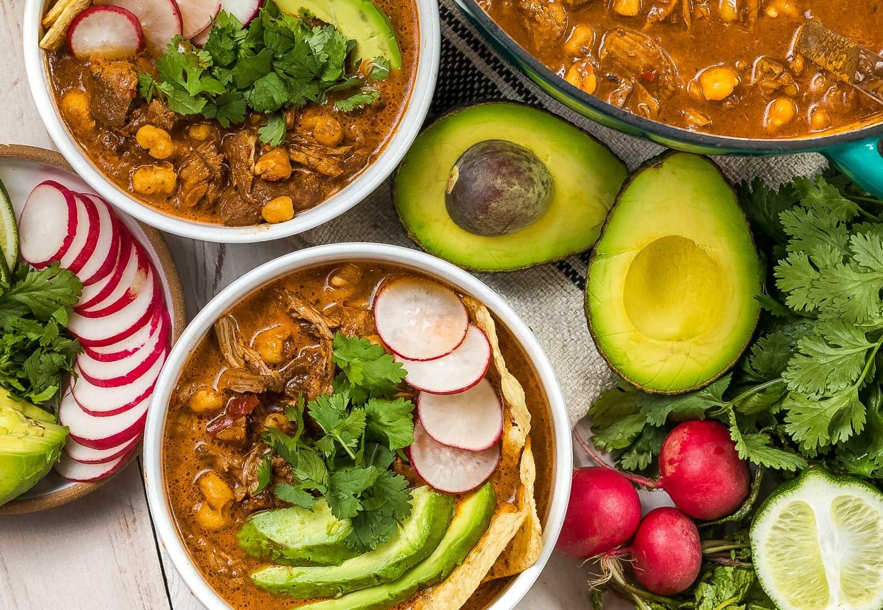 pozole soup مکزیک