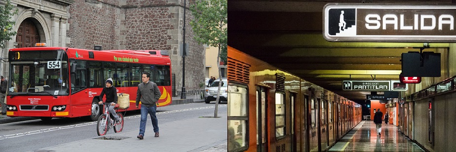 حمل و نقل عمومی در مکزیکوسیتی