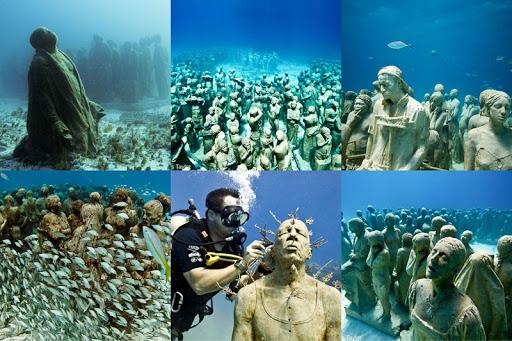 موزه زیرآب کانکن مکزیک