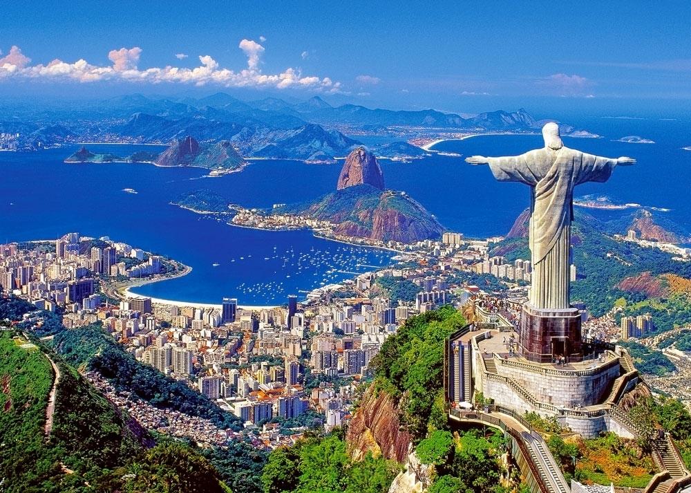 مجسمه ی مسیح نجات دهنده ریودوژانیرو برزیل