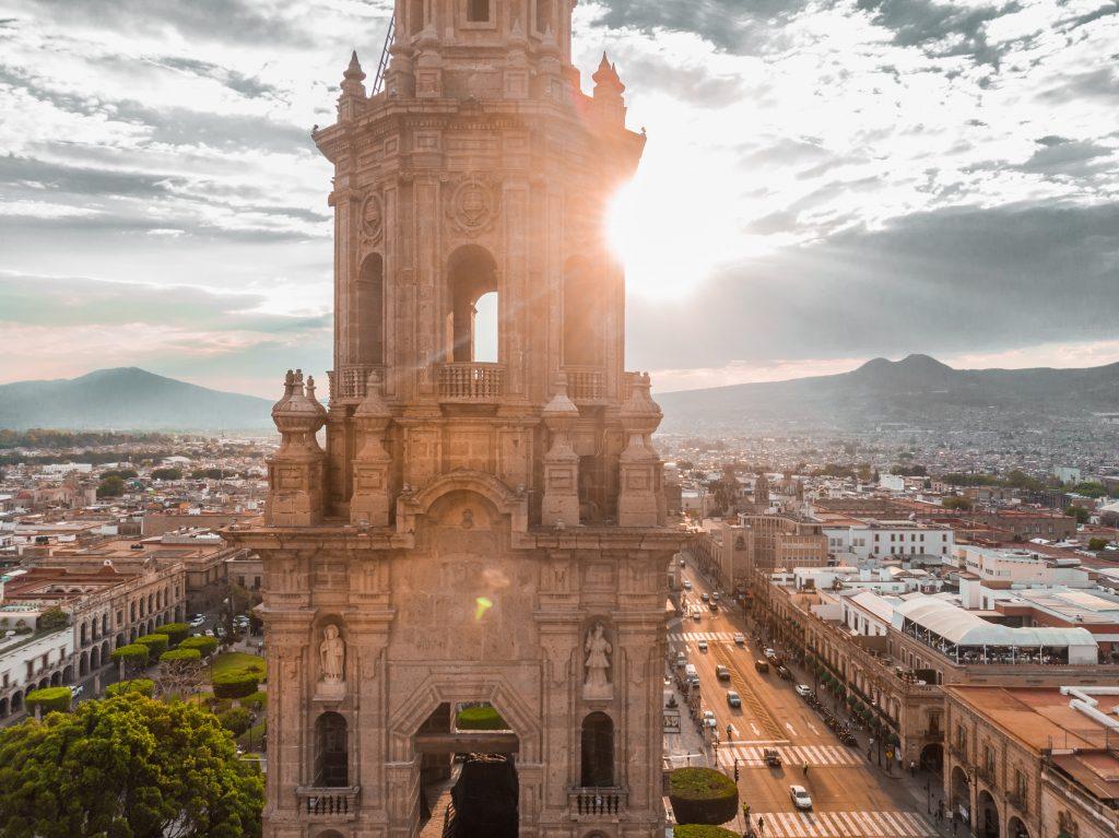 جاذبه های تاریخی مورلیا مکزیک