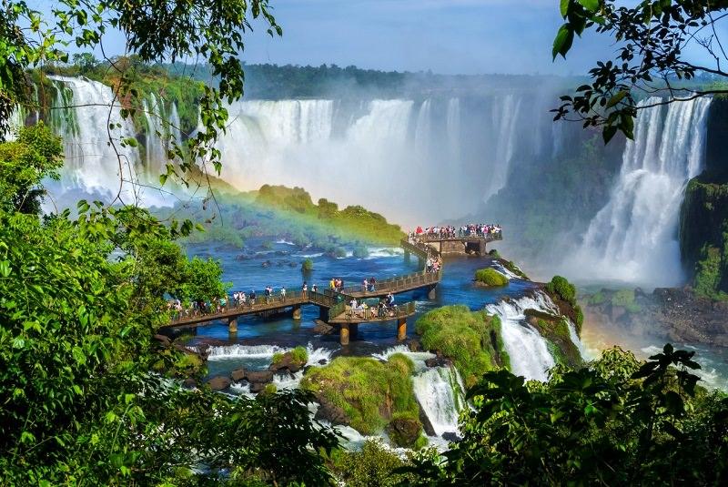 آبشار ایگوآسو برزیل آرژانتین