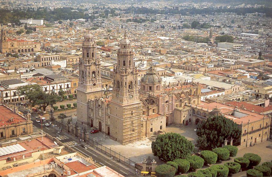 جاذبه ی تاریخی Morelia Mexico
