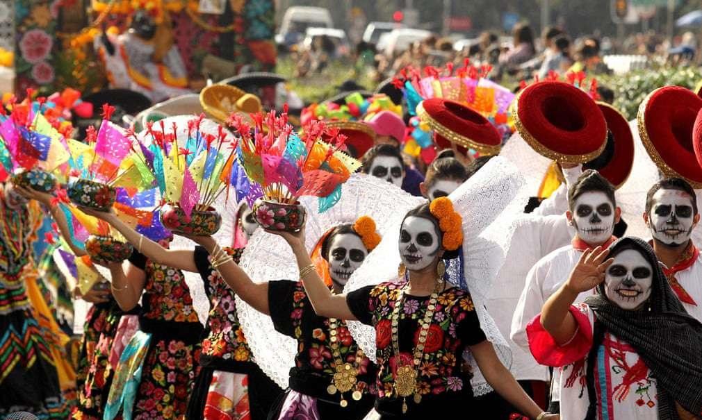 جشن مردگان مکزیک