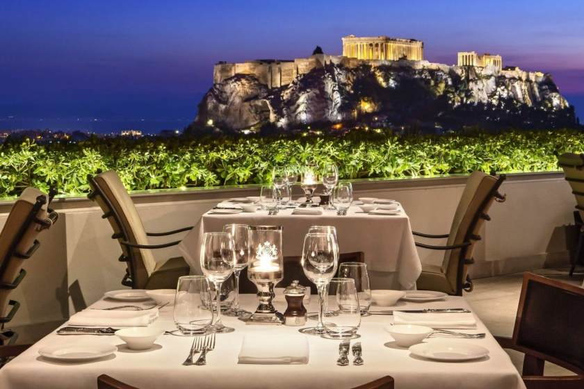 رستوران در یونان