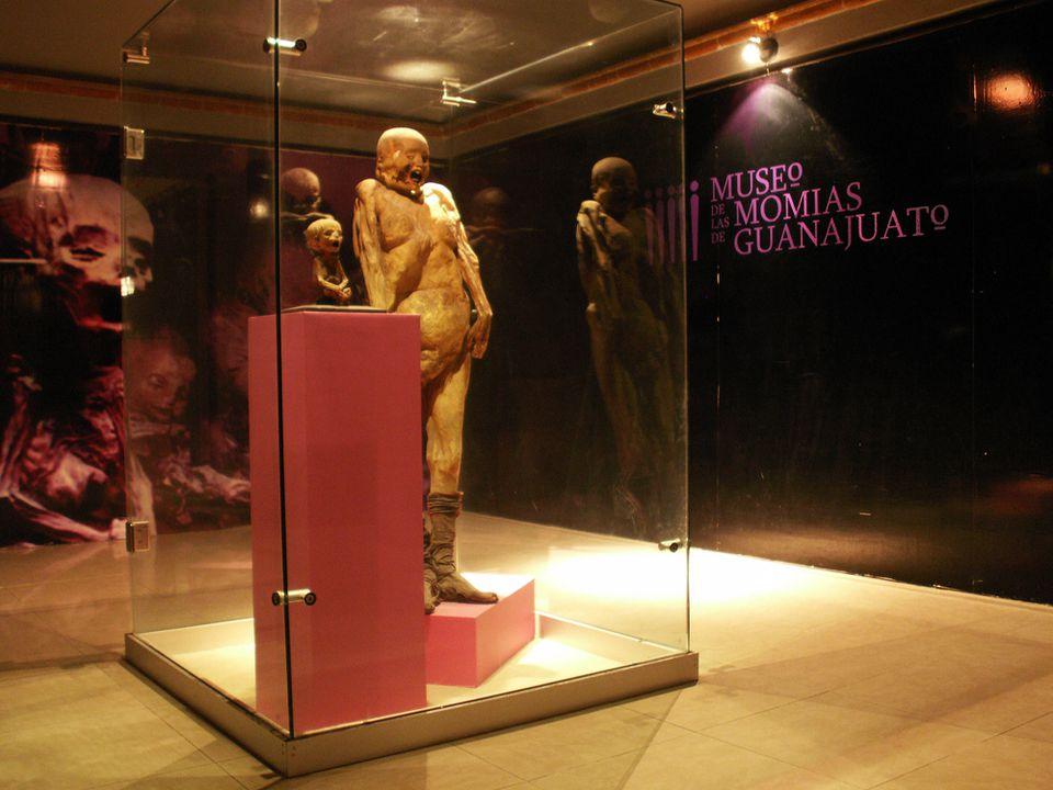 موزه ی مومیایی مکزیک