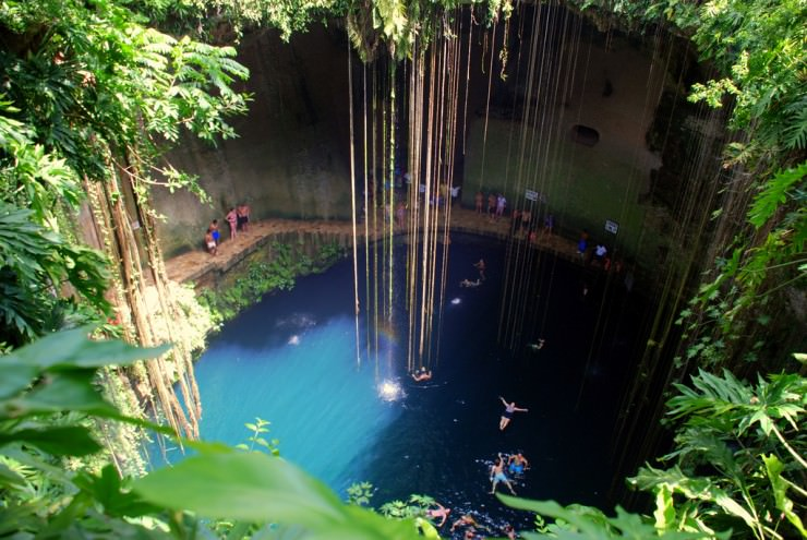 sacred cenote in mexico