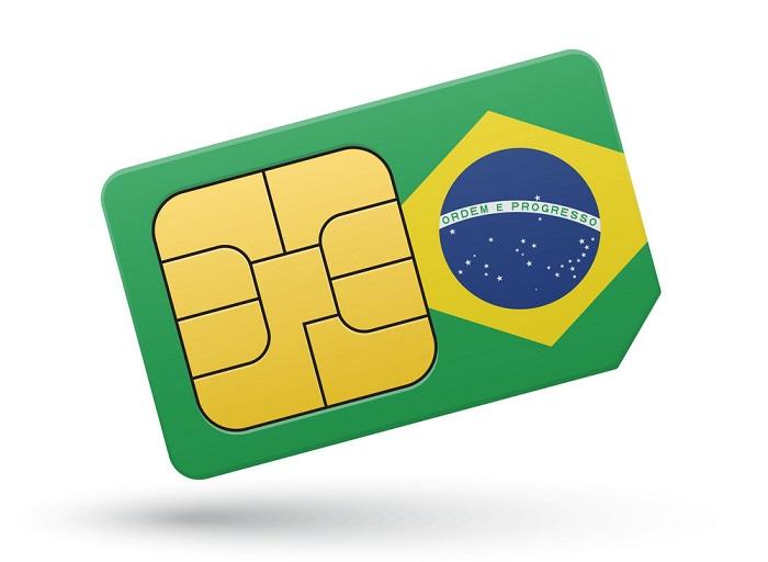 سیم کارت در برزیل