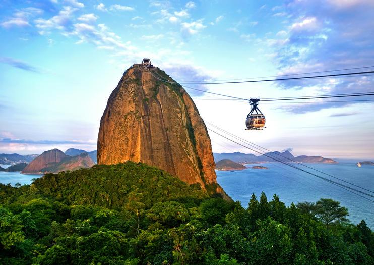 کوه کله قندی تلکابین ریودوژانیرو برزیل