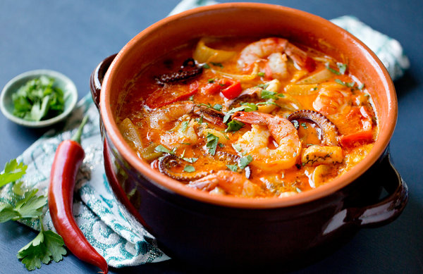 موککا خوراک سوپ برزیلی باهایا