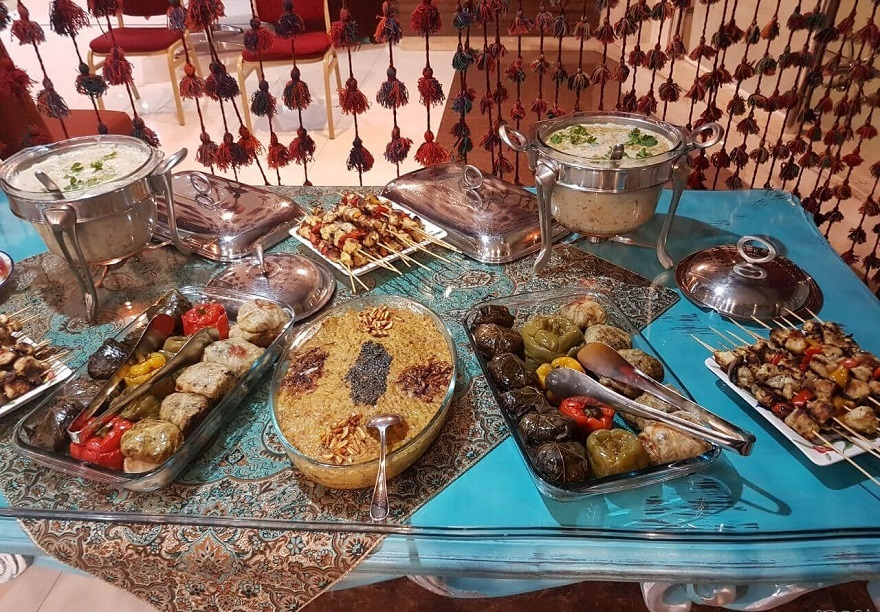 traditional food of kermanshah