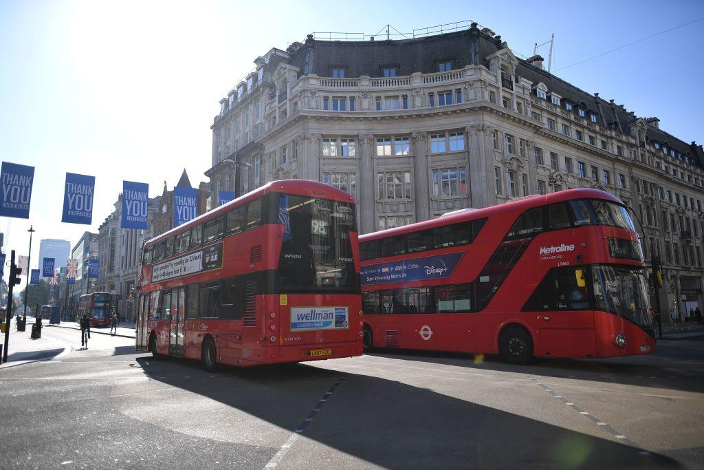 حمل و نقل عمومی در لندن