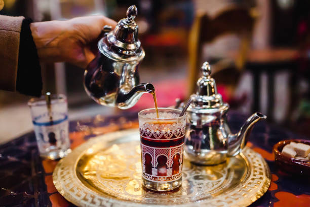 نوشیدنی چای نعنا مراکشی -سایت بوکینگ