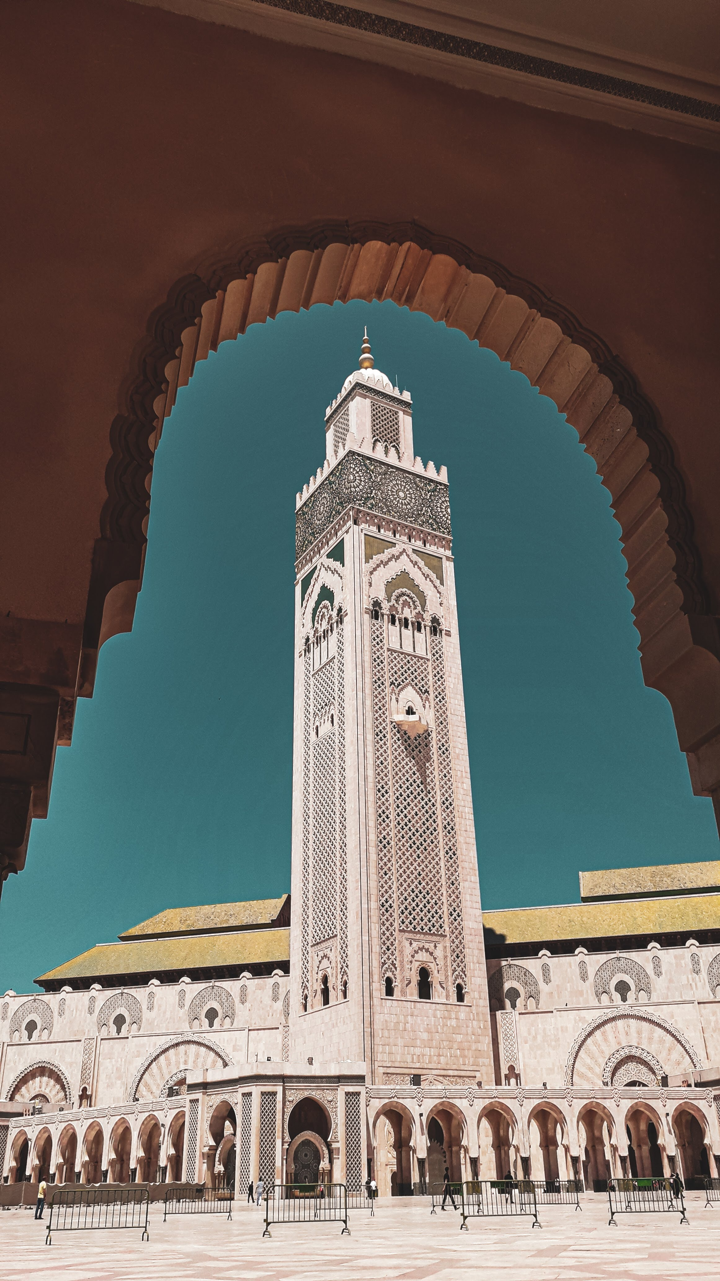 مسجد شاه حسن ثانی مراکش-جاذبه های گردشگری مراکش