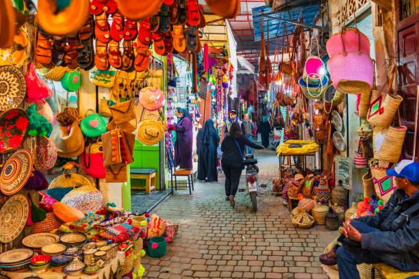بازار سوق مدینه مراکش ,از جاذبه های گردشگری مراکش