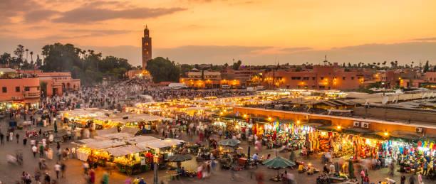 میدان و بازارچه سنتی جماع الفنا مراکش-سایت بوکینگ