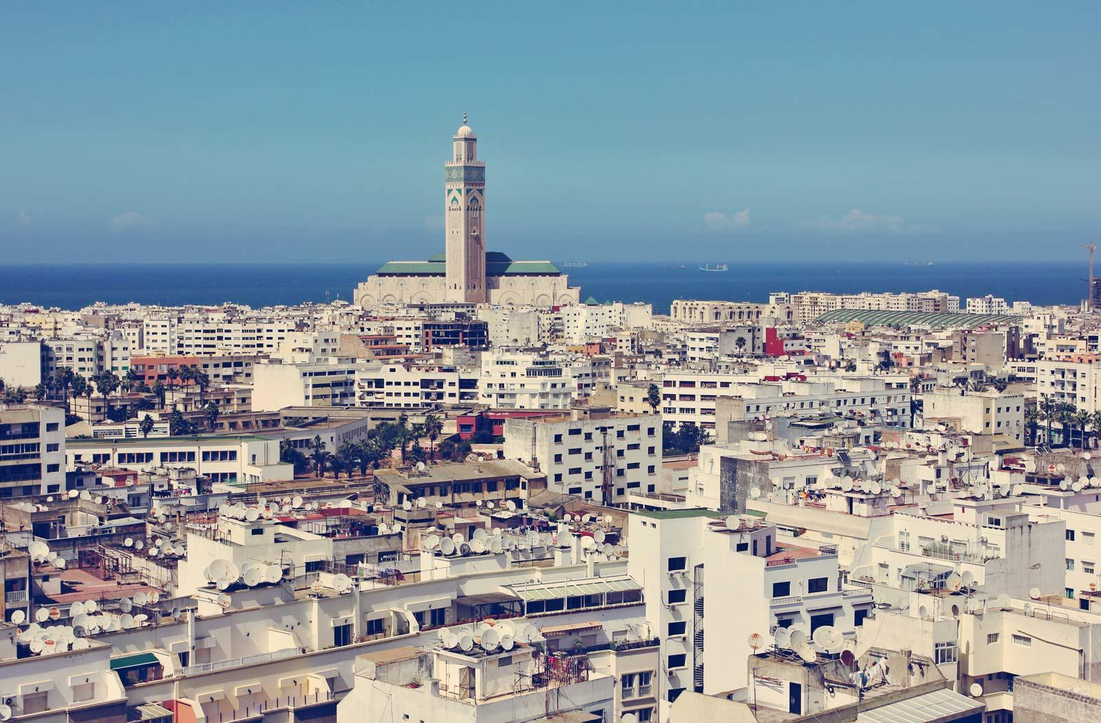 شهر زیبای کازابلانکه مراکش-بوکینگ