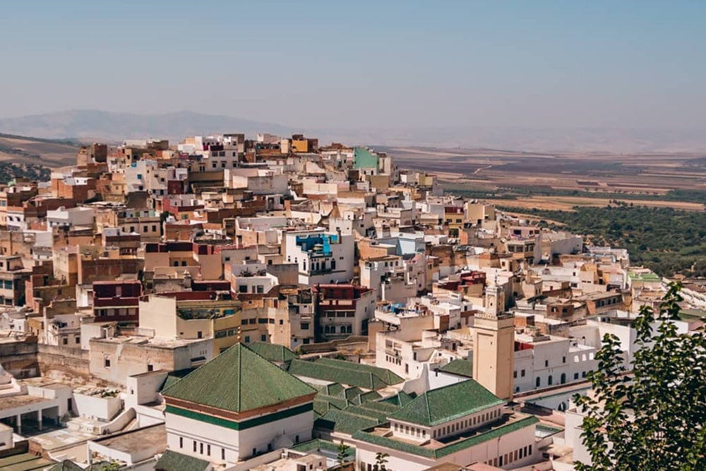 شهر تاریخی مکناس مراکش -بوکینگ