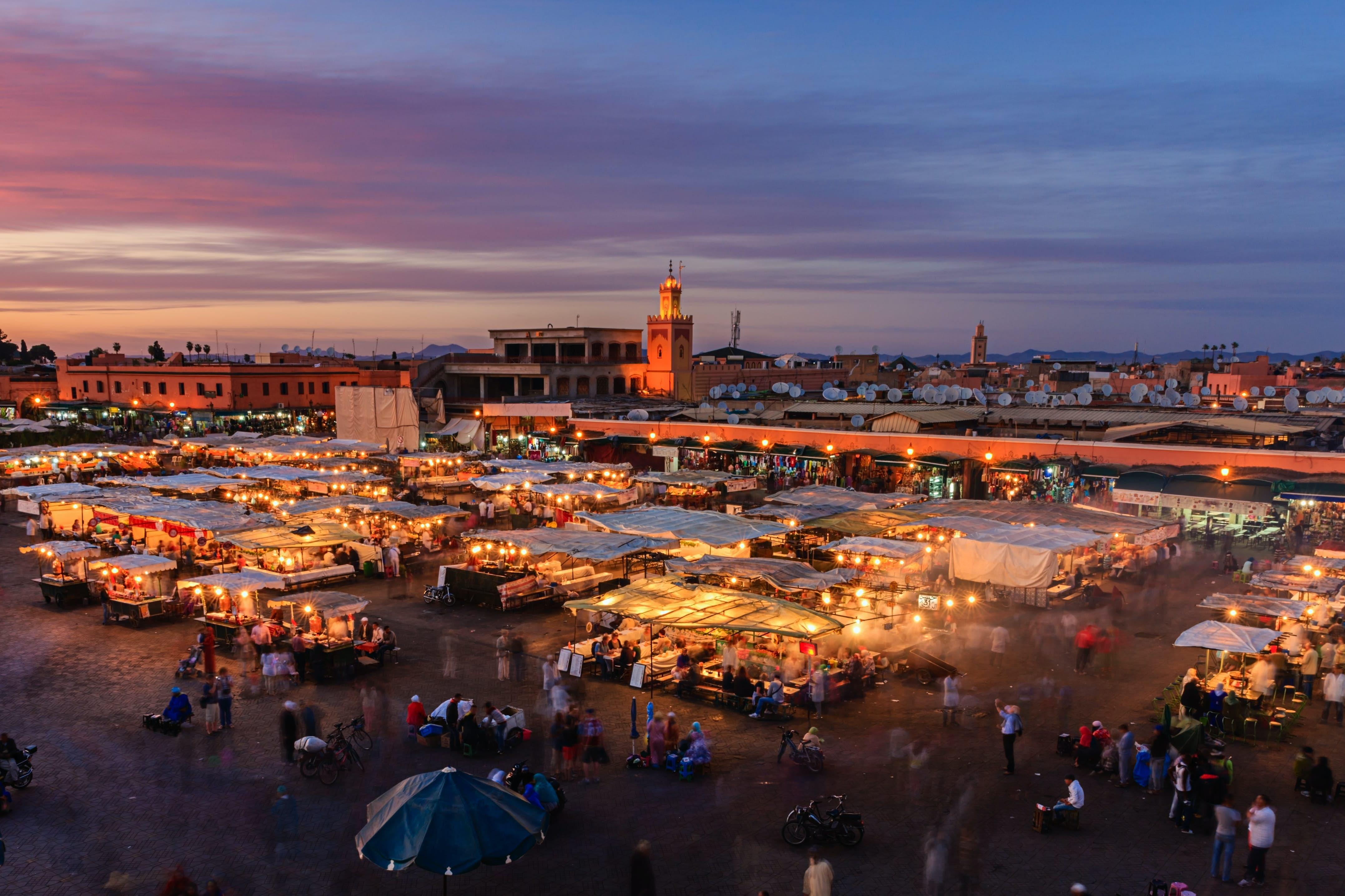 جامع الفنا مراکش-بوکینگ