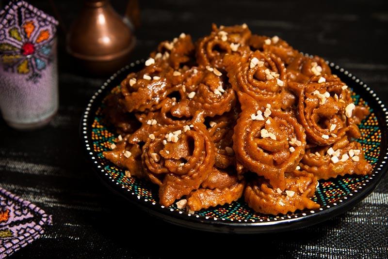 چباکیا از خوراکی های خوشمزه مراکشی -بوکینگ