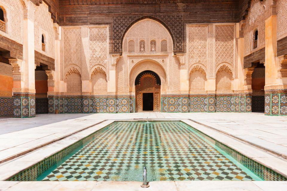 مدرسه بن یوسف مراکش -بوکینگ