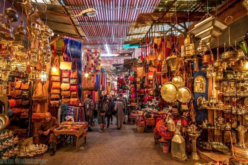 منطقه قدیمی شهر مدینه مراکش-بوکینگ