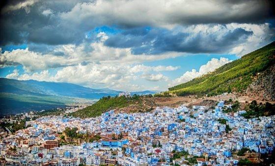 آب و هوای کشور مطبوع مراکش