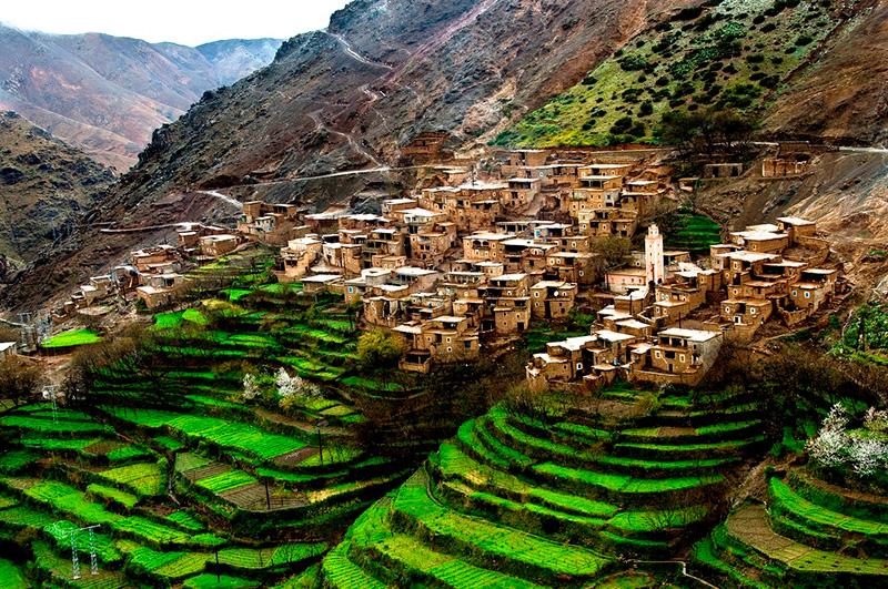 آب و هوای کوهستانی و دلچسب مراکش-بوکینک